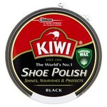 Kiwi Black Shoe Polish 50ml