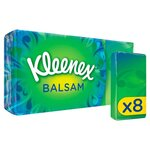 Kleenex Balsam Pocket Pack Tissues 8 x 9 per pack