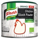 Knorr Organic Gluten Free Chicken Stock Powder 135G
