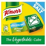 Knorr Reduced Salt Vegetable Cubes 6 Pack