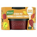Knorr Stock Pot Vegan Paprika and Sun Dried Tomato 2 X 26G