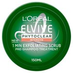 L'Oreal Elvive Phytoclear 1 Min Exfoliating Scrub 150ml