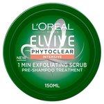 L'Oreal Elvive Phytoclear 1 Min Exfoliating Scrub 150ml