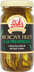 La Monegasque Anchovy Fillets in Olive Oil with Garlic and Herbs 100g