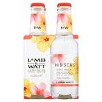 Lamb and Watt Hibiscus Tonic Water 4 x 200ml
