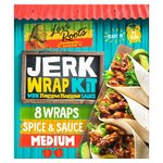 Levi Roots Jerk Wrap Kit with Reggae Reggae Sauce 440G