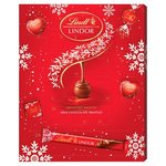 Lindt Lindor Christmas Milk Chocolate Advent Calendar 315g