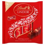 Lindt Lindor Milk Chocolate Bars 4 Pack