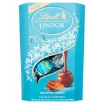 Lindt Lindor Salted Caramel Milk Chocolate Truffles 200g