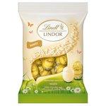 Lindt Lindor White Mini Eggs 100g