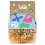 Little Pasta Organics Travel Shaped Tri Coloured Pasta 250g for Toddlers and Kids