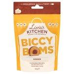 Livias Kitchen Biccy Boms Ginger 120g Pouch