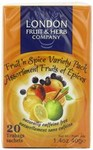 London Fruit and Herb Fruit and Spice Variety Pack 20 Teabags Case of 12 Packs