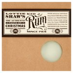 Lottie Shaws Christmas Iced Rum Mince Pies 4 per pack