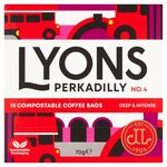 Lyons Perkadilly Coffee Bags 10 Pack