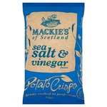 Mackies Sea Salt and Vinegar Crisps 150g