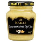 Maille Coconut and Colombo Style Spices White Wine Mustard 108g