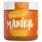 Manilife Deep Roast Smooth Peanut Butter 295g