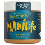 Manilife Original Roast Smooth Peanut Butter 295g
