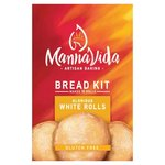 Mannavida Gluten Free White Dinner Rolls Bread Kit 415g