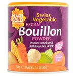 Marigold Swiss Vegetable Vegan Bouillon Reduced Salt 150g