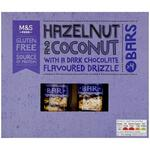 Marks and Spencer 4 Hazelnut and Coconut with Dark Chocolate Bars