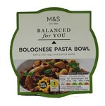 Marks and Spencer Balanced for You Bolognese Pasta Bowl 300g