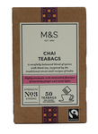 Marks and Spencer Chai 50 Teabags