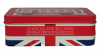 Marks and Spencer Chocolate Eclairs Union Jack Tin 100g.