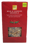 Marks and Spencer Christmas Milk and Cookies Granola 500g
