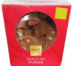 Marks and Spencer Christmas Mince Pie Fudge 150g