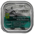 Marks and Spencer Complete Fine Terrine Rich in Wild Mackerel Fillets 100g