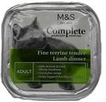 Marks and Spencer Complete Fine Terrine Tender Lamb Dinner 100g