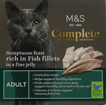 Marks and Spencer Complete Sumptuous Feast Rich in Fish Fillets in Jelly 100g