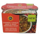 Marks and Spencer Eat Well Chorizo Cavolo Nero and Root Vegetable Soup 250g