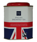 Marks and Spencer English Breakfast Tea Union Jack Tin 50 Teabags