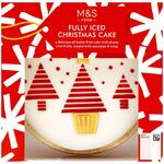 Marks and Spencer Fully Iced Christmas Cake 900g