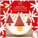 Marks and Spencer Fully Iced Christmas Cake 900g
