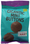 Marks and Spencer Gigantic Milk Chocolate Buttons with Mint 150g