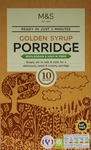 Marks and Spencer Golden Syrup Porridge 10 x36g