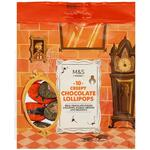 Marks and Spencer Halloween Creepy Chocolate Lollipops 10 Pack 115g