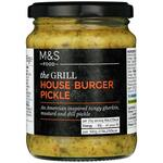 Marks and Spencer House Burger Pickle 295g