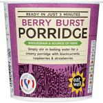 Marks and Spencer Instant Berry Burst Porridge Oats 70g
