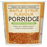 Marks and Spencer Instant Maple Syrup Porridge Oats 70g