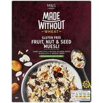 Marks and Spencer Made Without Fruit Nut and Seed Muesli 360g
