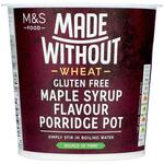Marks and Spencer Made Without Maple Syrup Porridge Pot 70g