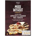 Marks and Spencer Made Without Wheat Apricot and Cashew Nut Toasts 125g