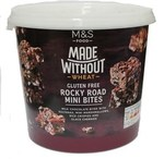 Marks and Spencer Made Without Wheat Rocky Road Mini Bites 285g