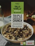 Marks and Spencer Made Without Wheat Triple Chocolate Crunch 360g