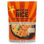 Marks and Spencer Microwaveable Mexican Rice 250g pouch